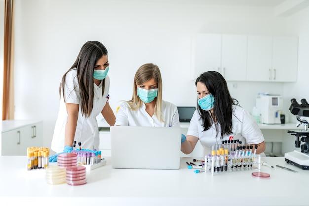 Testen en voorkomen van verspreiding van besmettelijk virus.