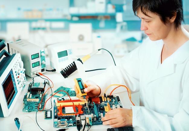 Testen van elektronische apparatuur