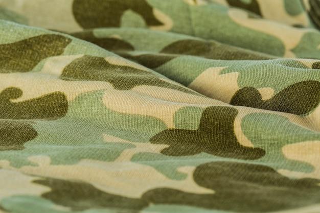 Textiel camouflage-uniform