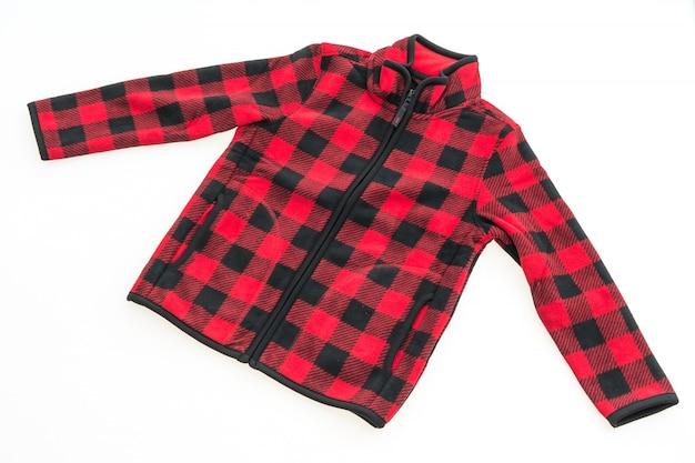 Textiel regen fleece warm wit