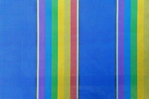 Texturen en kleuren van strandstoel voor de achtergrond.