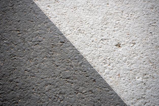 Texturen en patronen van grijze ruwe vloeren zwart en wit.