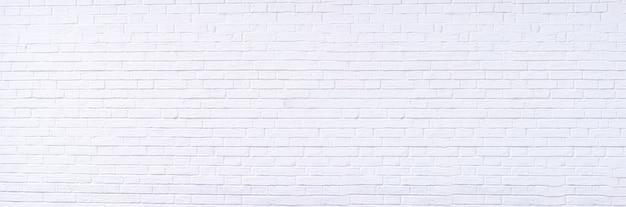 Textuur achtergrond concept witte bakstenen muur
