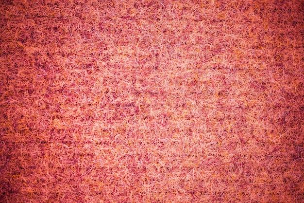Textuur achtergrond rode loper.