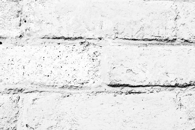 Textuur, baksteen, muur. baksteentextuur met krassen en scheuren