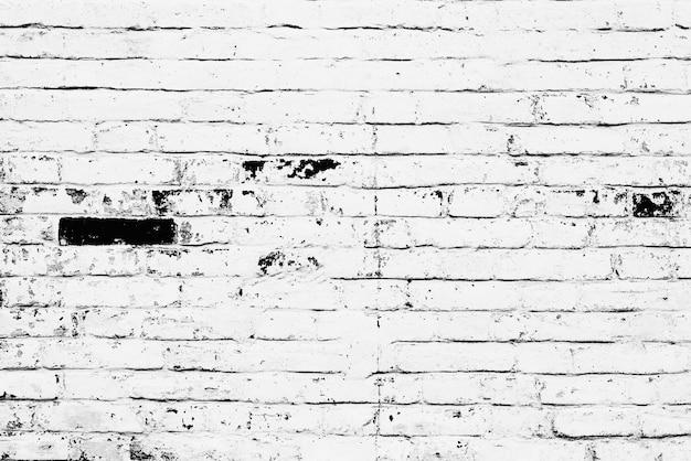 Textuur, baksteen, muur, het kan als achtergrond worden gebruikt. baksteentextuur met krassen en scheuren