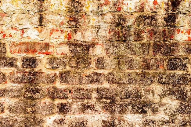 Textuur, baksteen, muur, het kan als achtergrond worden gebruikt
