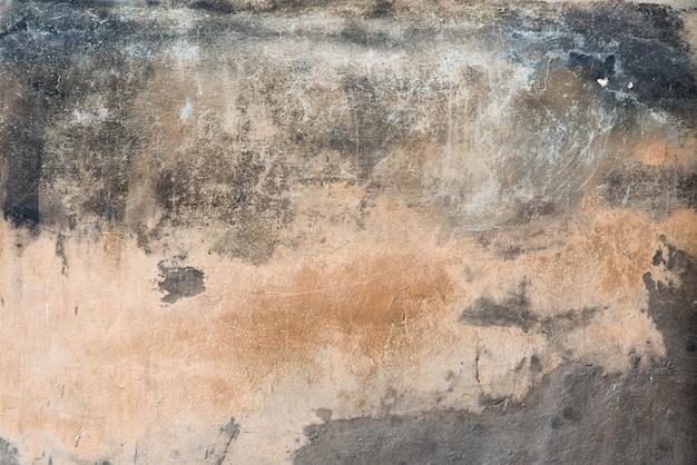 Textuur beschadigde pleister concrete muur als achtergrond
