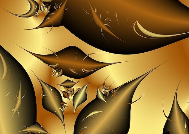 Textuur fractals desktop wave structuur achtergrond