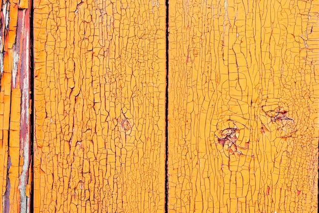 Textuur, hout, muur, het kan als achtergrond worden gebruikt. houten structuur met krassen en scheuren