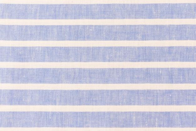 Textuur linnen doek met witte strepen