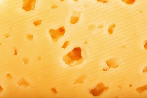 Textuur nederlandse kaas