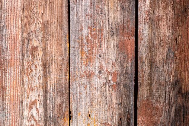 Textuur oude houten panelen, vintage achtergrondstructuur