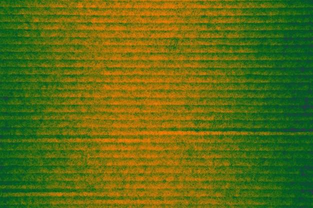 Textuur papier karton gemengd oranje groen