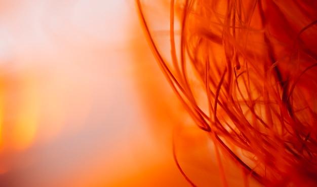 Textuur van abstracte golvende rode vezels