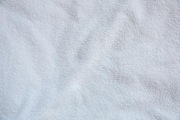 Textuur van badhanddoek. textiel achtergrond.