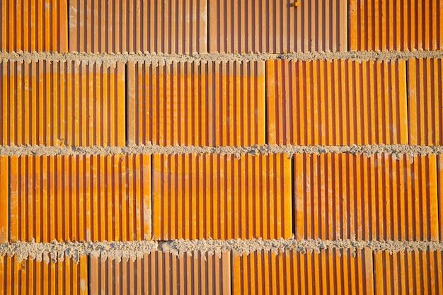 Textuur van bakstenen muur voor achtergrond
