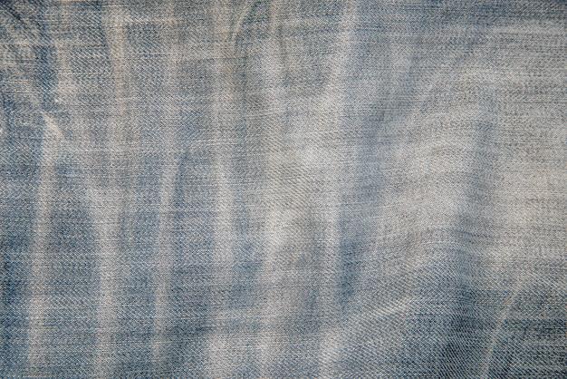 Textuur van blauwe denim jean,