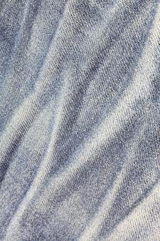 Textuur van blauwe spijkerbroek Premium Foto