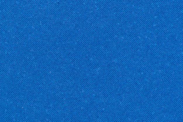 Textuur van blauwe stof