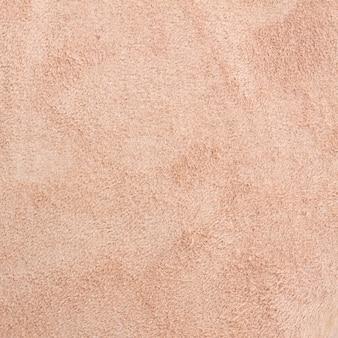 Textuur van bruine van het varkenssuède macro als achtergrond
