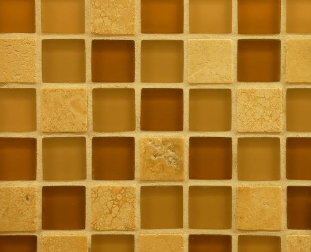 Textuur van de fijne achtergrond van het keramische tegelspatroon