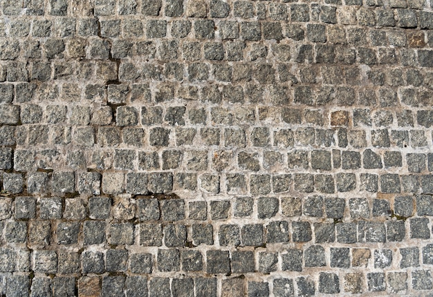 Textuur van de oude grijze betonmolens.