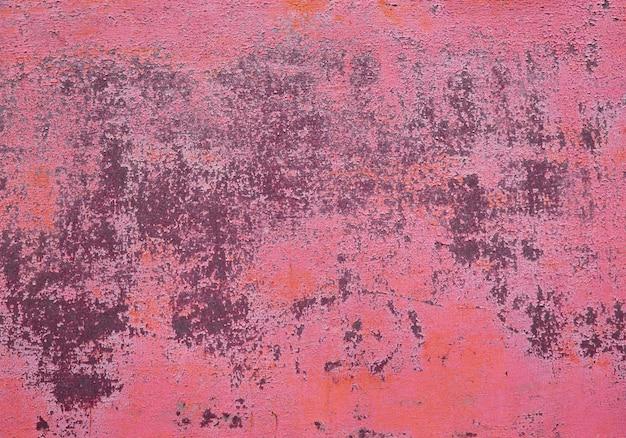 Textuur van de oude muur van de grungeroest