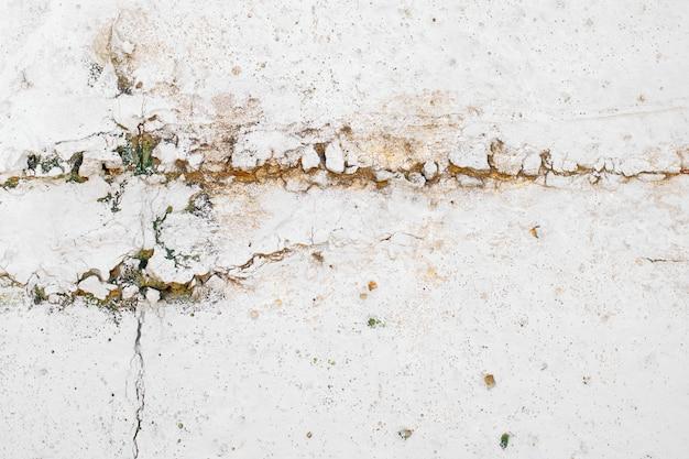 Textuur van de uitstekende roestige grijze achtergrond van de ijzermuur