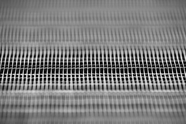 Textuur van de waterkoelingradiatoren van de motor.