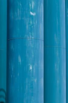 Textuur van dichte omhooggaande metaalstructuur
