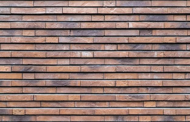 Textuur van een bakstenen muurachtergrond