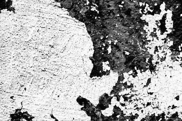 Textuur van een metalen wand met scheuren en krassen die als achtergrond kunnen worden gebruikt