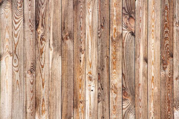 Textuur van gele houten planken voor achtergrond