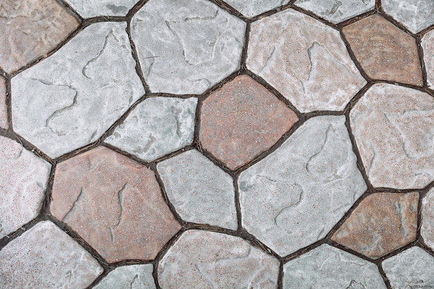 Textuur van grijze weg graniet tegels