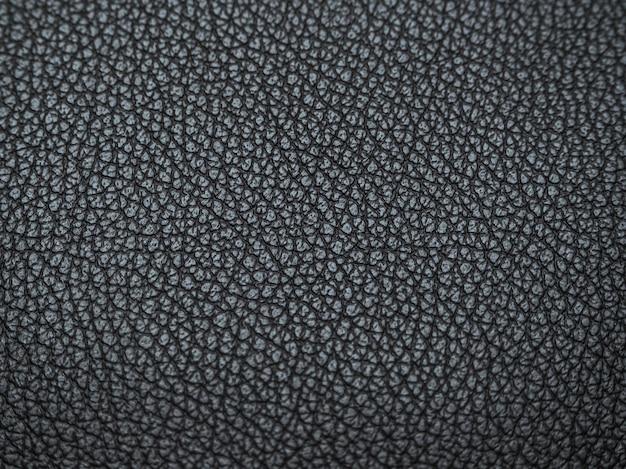 Textuur van het leer zwart. abstracte leder texture met de vervaging.