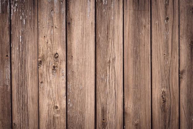Textuur van houten planken. vintage houten hek.