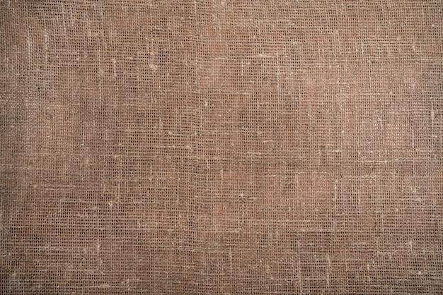 Textuur van jute, canvas, ruwe achtergrond