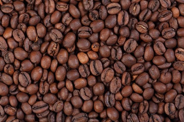 Textuur van kenia aa koffie gourmet koffie