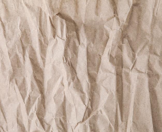 Textuur van oud verfrommeld document
