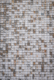 Textuur van oude dakpannen.
