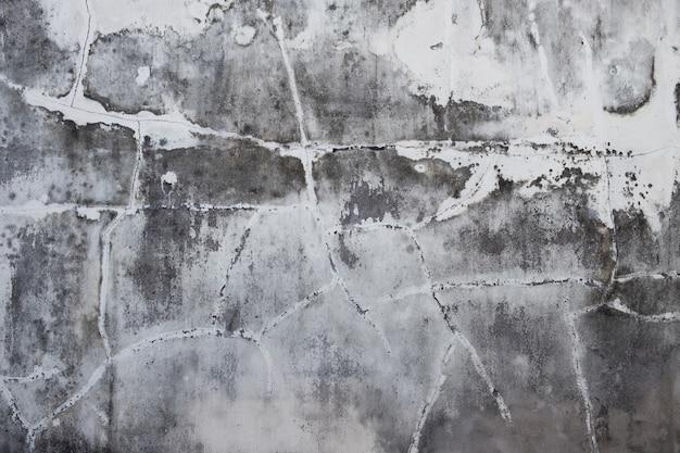 Textuur van oude grijze concrete gipspleistermuur