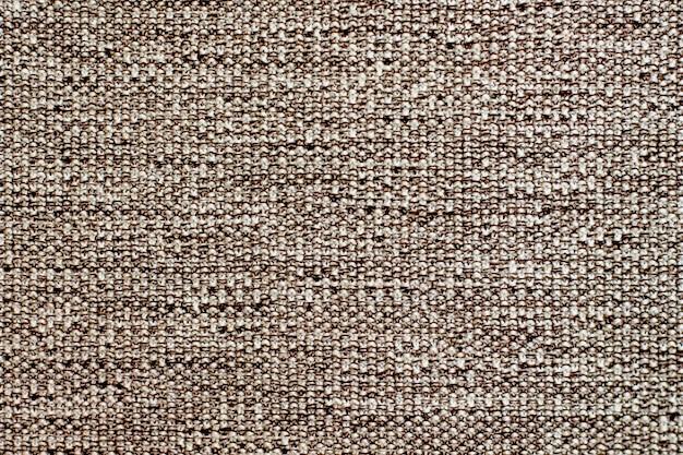 Textuur van oude stof van grof met elkaar verweven draden