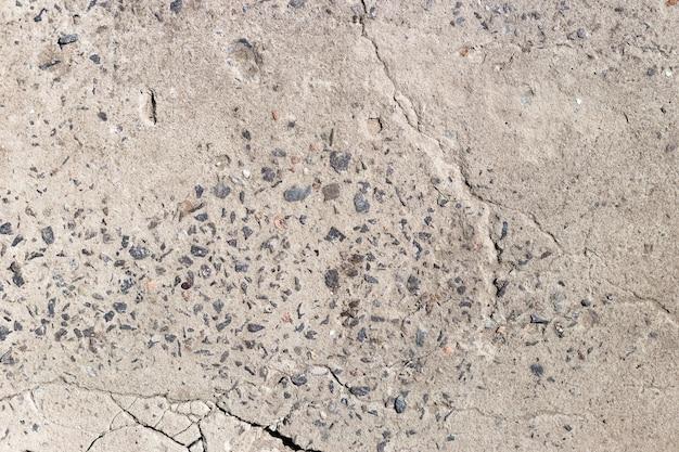 Textuur van oude vuile grijze betonnen vloer voor achtergrond
