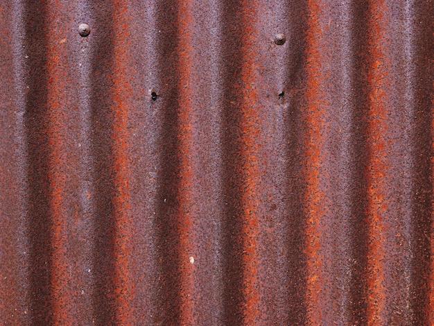 Textuur van oude zinkoppervlakte gegalvaniseerde roest, roestige zinkachtergrond