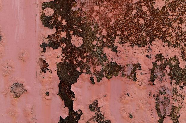 Textuur van roestig metaal.