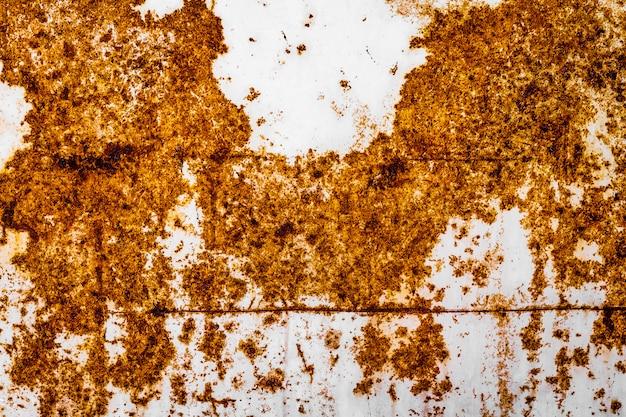 Textuur van roestige metaalachtergrond. oude roest ijzer oppervlak.