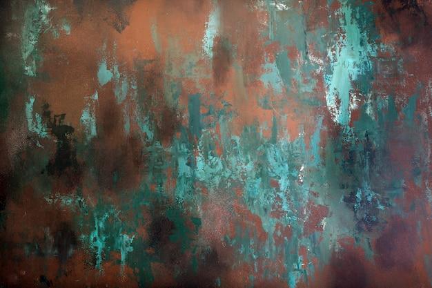 Textuur van roestige metaalachtergrond