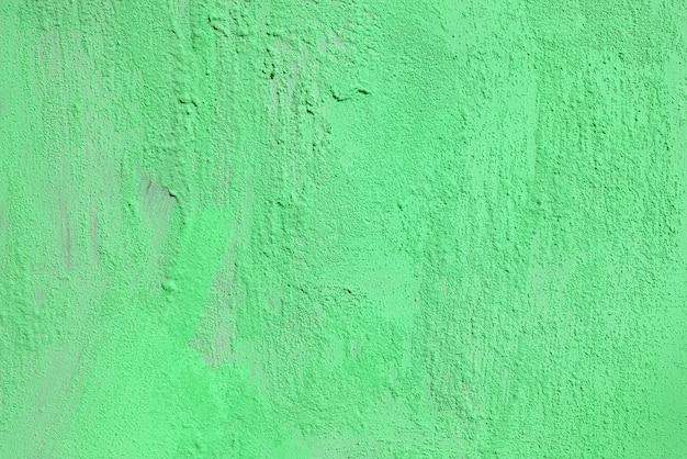 Textuur van ruwe groene gips. architecturale abstracte achtergrond.