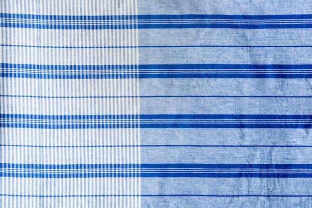 Textuur van standaard lendedoek in thaise stijl